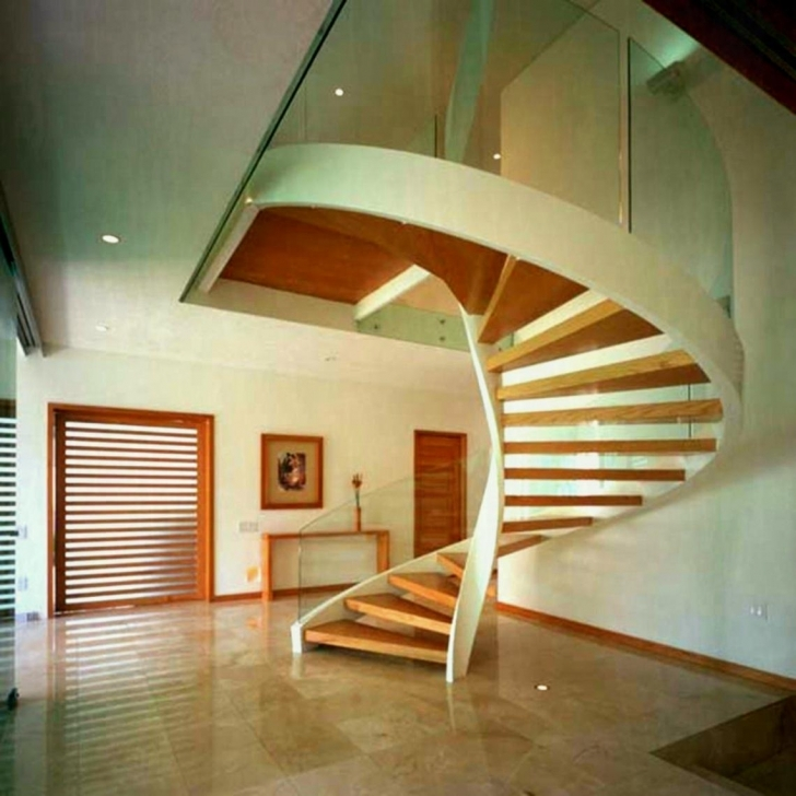 Wooden Spiral Staircase In Stylish Outdoor Wood Spiral Staircase Photo078