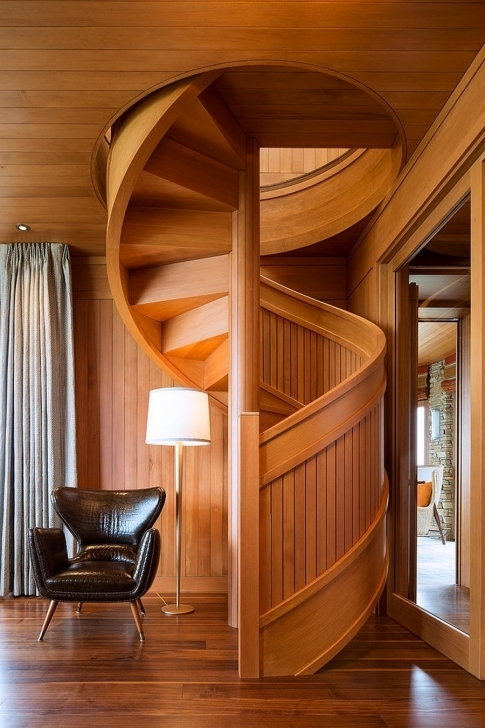 Wooden Spiral Staircase Inside Marvelous Wood Full Element Ideas Photo268