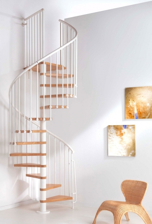 Wooden Spiral Staircase With Regard To Amazing White Iron Staircase Handrail Including Solid Wood Staircase Indoor Spiral Staircase Design Ideas Pics253