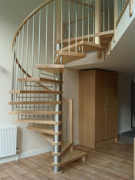 Wooden Spiral Staircase With Regard To Great Modern Wooden Interior Metal Spiral Staircase Kits Natural Design Ideas Pic192