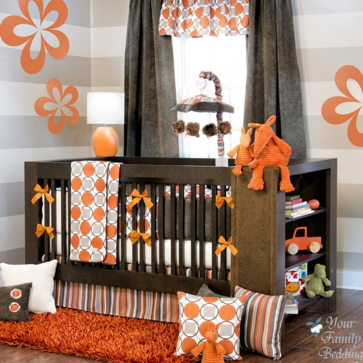 Baby Bedding For Boys Extraordinary Modern Baby Cribs In Colorful Baby Room Ideas