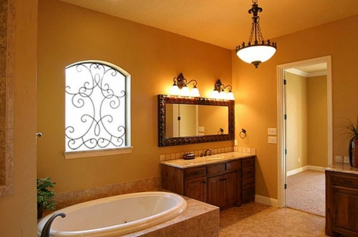 Beautiful Bathroom Lighting Fixtures Ideas Inside Attractive Hanging Lamps Design And Traditional Wooden Photos
