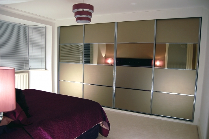 Bedroom Cupboard Designs And Colours With Brilliant Furniture Ideas Amazing Stainless Steel Doors Frames And Mirrored Built In Wardrobe Pic 067