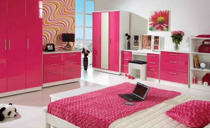 Bedroom Cupboard Designs And Colours With Incredible White Pink Bedroom Ideas Girls Picture 208