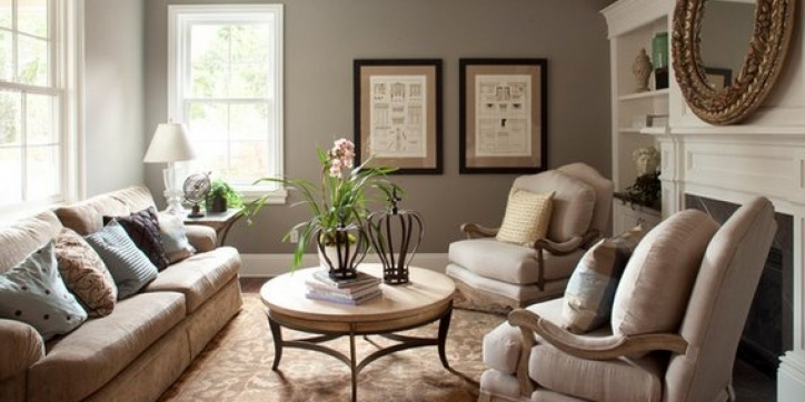 Living Room Paint Ideas With Outstanding Gray Color Design Ideas  696