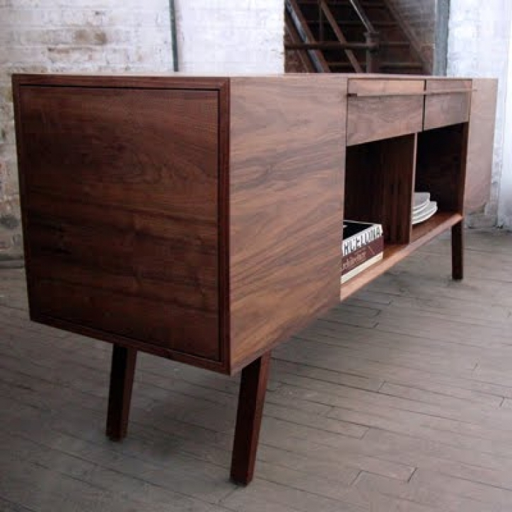 Mid Century Modern Credenza With Delightful Assembly Ideas Photo 634