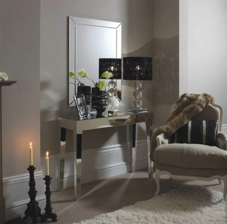 Mirrored Console Table Inside Awesome Small Ideas 256