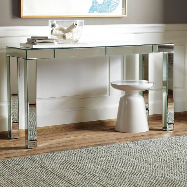 Mirrored Console Table With Incredible Contemporary Side Tables And End Tables  862