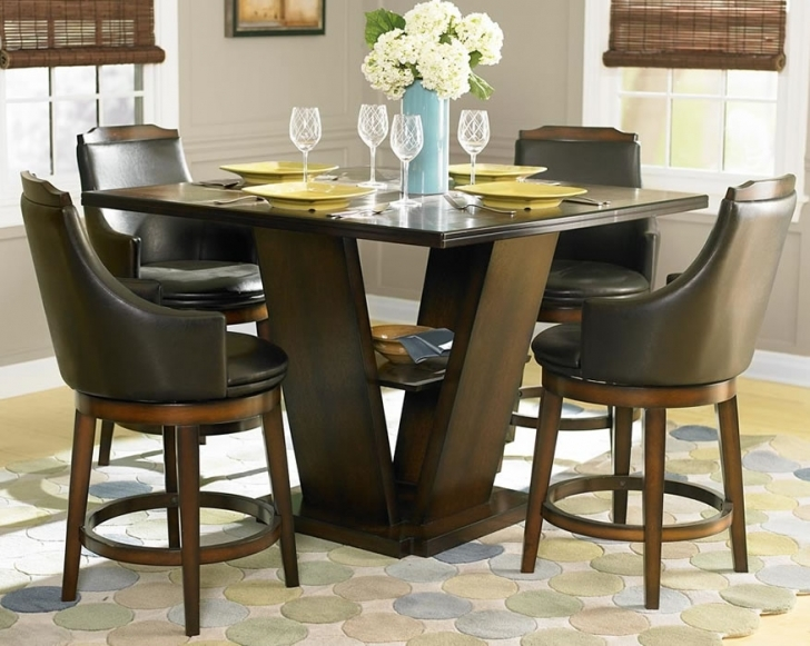 Modern Counter Height Dining Set With Gorgeous Dining Room Sets Home Interior Design Picture