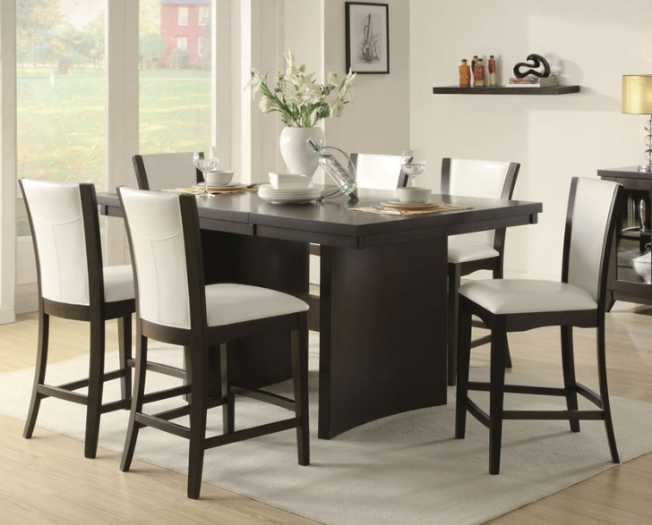 Modern Counter Height Dining Set With Stylish Design Dining Room Furniture Ideas Pictures