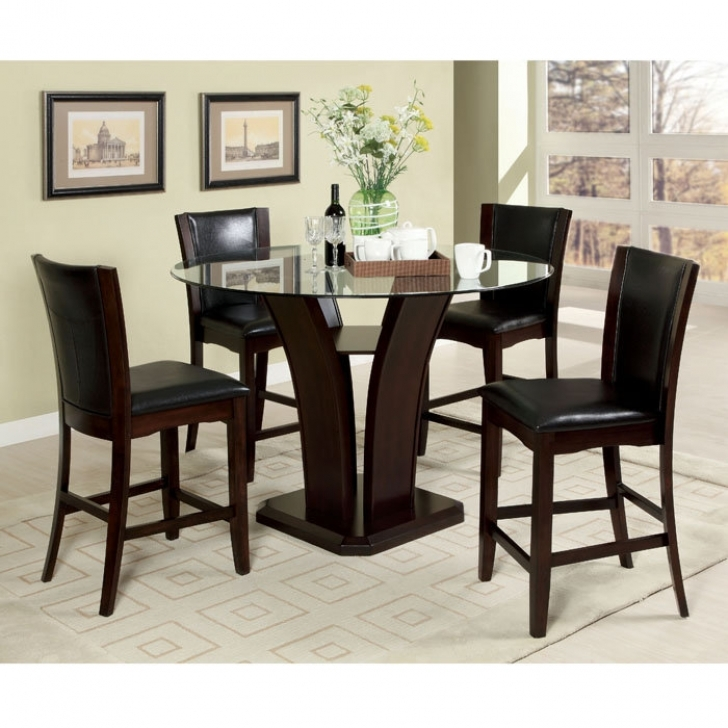 Modern Counter Height Dining Sets Inside Cozy Design Dining Room Sets Furniture Photos