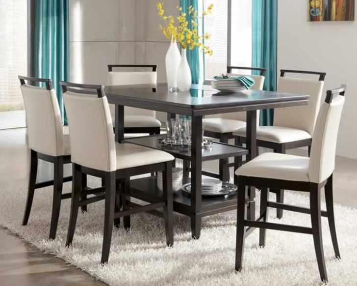 Modern Counter Height Dining Sets With Stylish Home Design Furniture Ideas Image