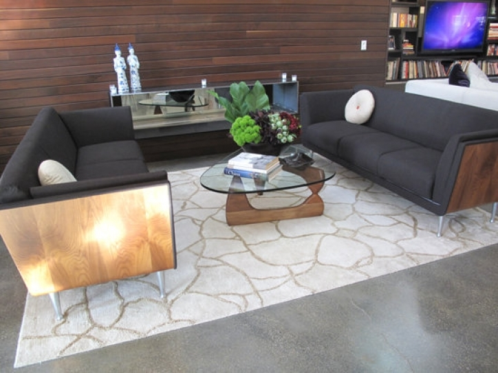 Noguchi Coffee Table Inside Fantastic Living Room Seating Area Picture 287