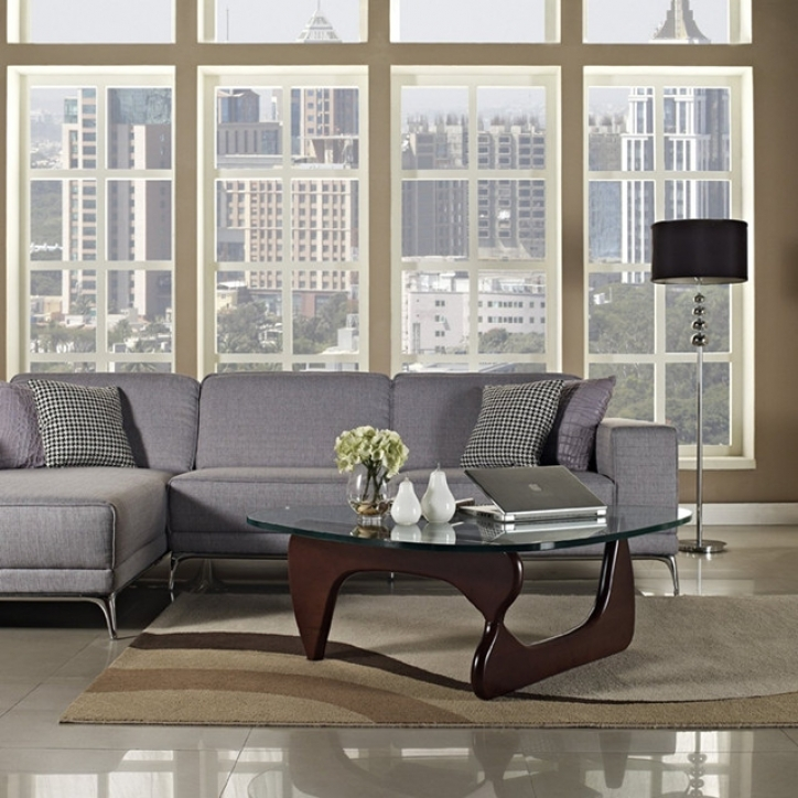 Noguchi Coffee Table With Great Design Combine Gray Sofa Images 192