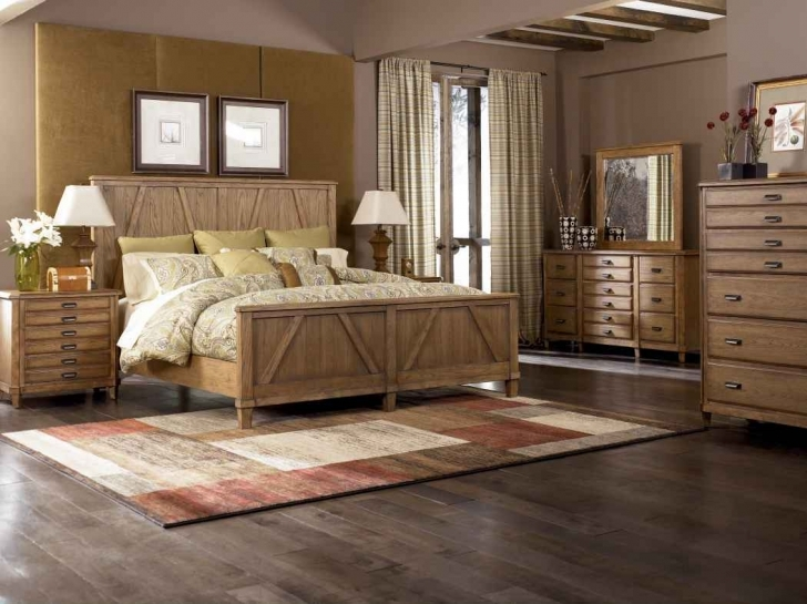 Paint Colors For Bedrooms With Light Wood Furniture Inside Fantastic Light Oak Wood Headboard And Cherry Solid Wood Bedroom Flooring Pics