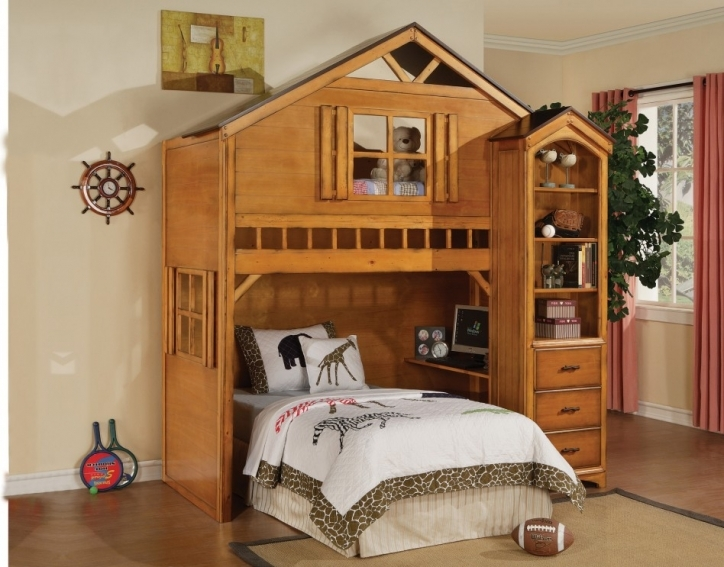 Rustic Bedroom Furniture Ideas Minimalist Kids Room With Shab Chic Bunk Beds 489