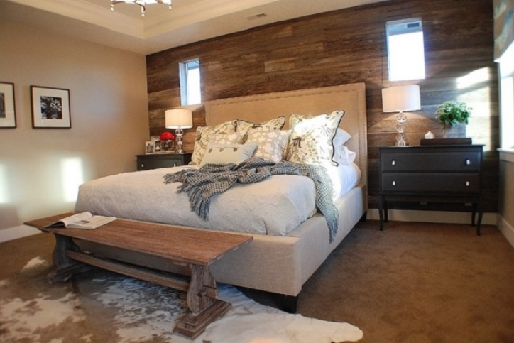 Rustic Bedroom Furniture Ideas Modern Chic With Pillow And Desk Lamp Design 006