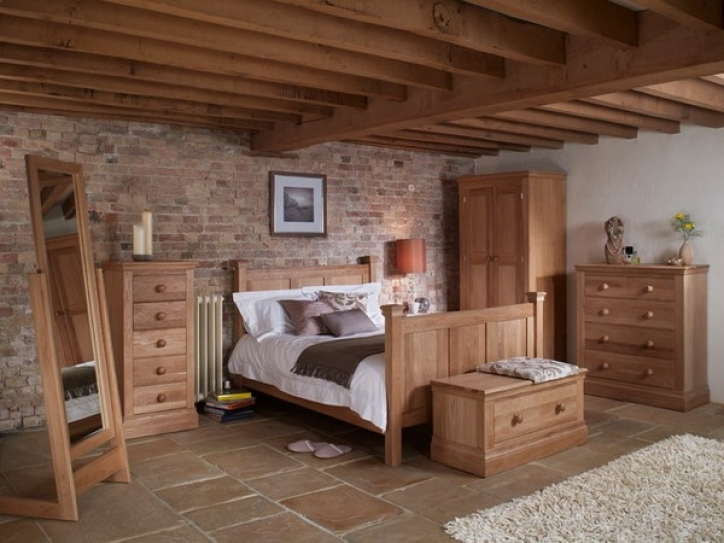 Rustic Bedroom Furniture Ideas With Pine Wood 581