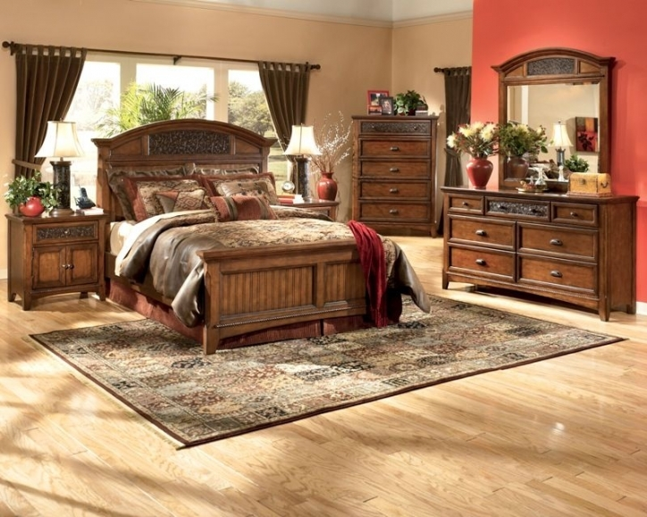 Rustic Bedroom Furniture Sets Mexican Simple And Elegant 992