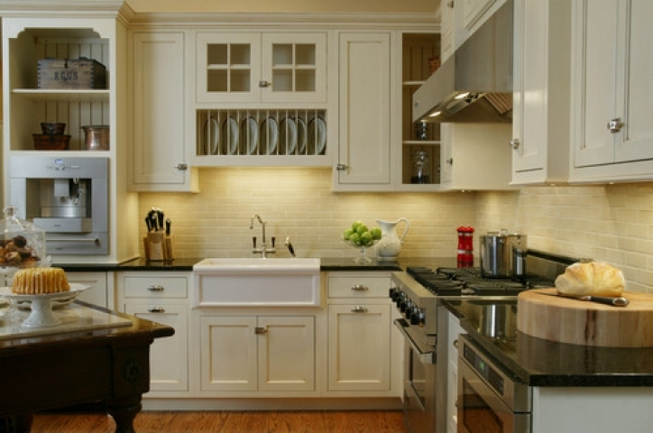 Under Cabinet Lighting Ideas With Incredible Cottage Style Kitchen Ideas Pictures 734