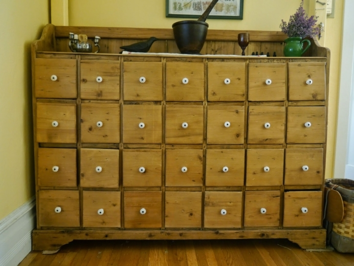 Apothecary Cabinet Ikea Furniture Cedar Unpolished Added Multi Small Drawer Photos
