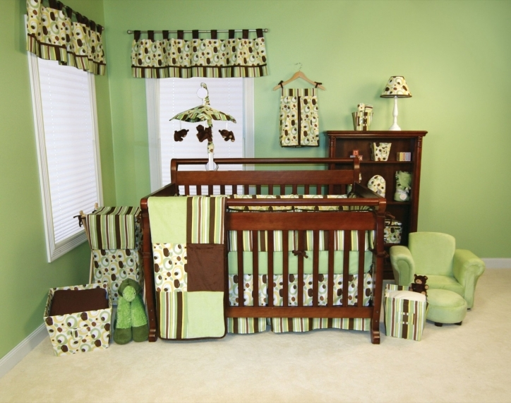 Baby Girl Nursery Themes Neutral Color With Green Ideas Pics