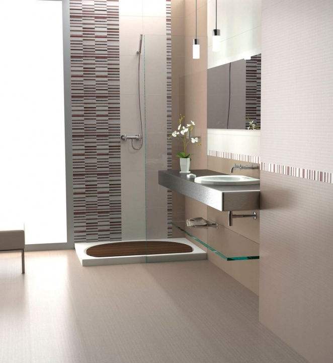Ceramic Bathroom Wall Tiles With Plain Color Ideas Photos