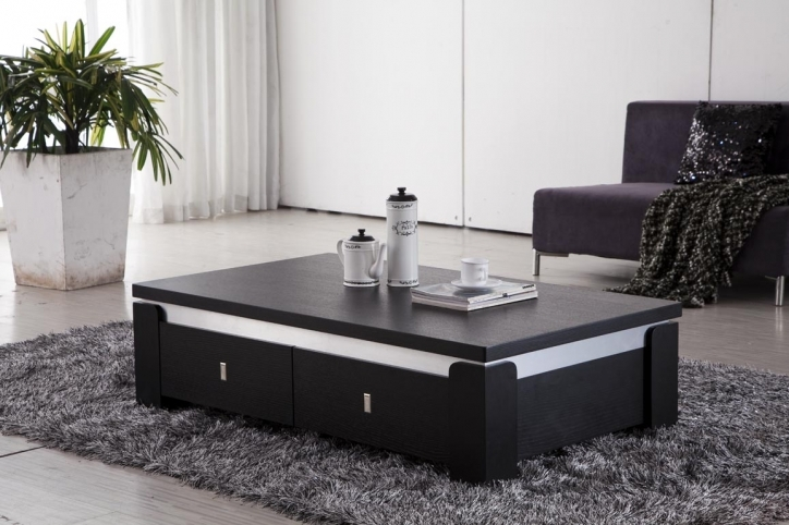 Contemporary Coffee Tables With Storage Black Modern Coffee Table Images