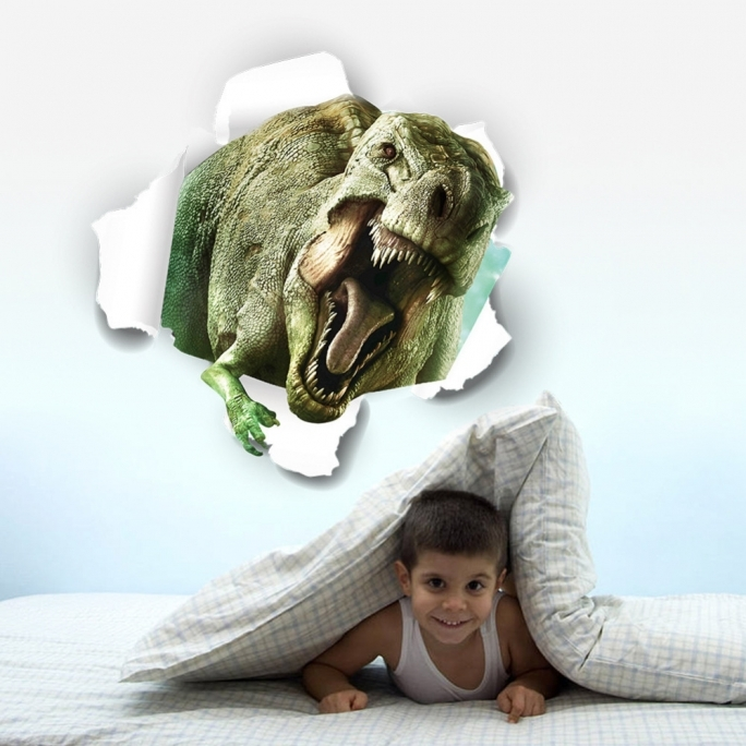 Jurassic World Room Ideas 3d Wall Stickers Kid Dinossaur Poster Room Decoration  Picture