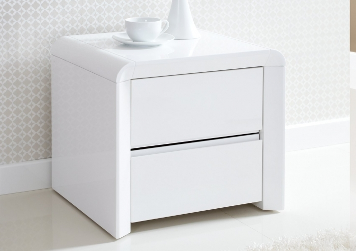 Narrow Bedside Table Contemporary White Ideas Pics