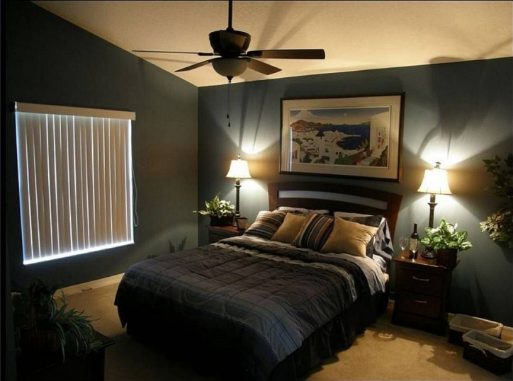 Wall Paint Colors Romantic Master Bedroom Decorating Ideas Photo