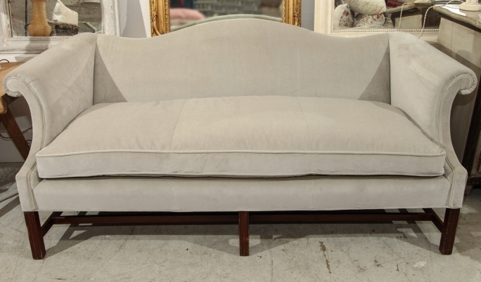 White Color Camel Back Couches Design Ideas Gray Laminated Floor Images