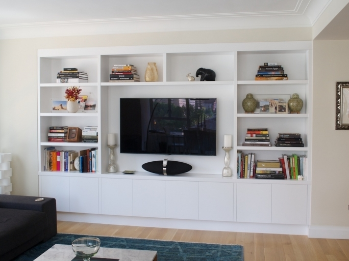 Open Shelving Units Custom Television Storage Built Wall Units For Simple Landscape 1