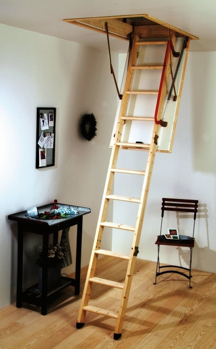 Pull Down Attic Stairs Easy Design Photo