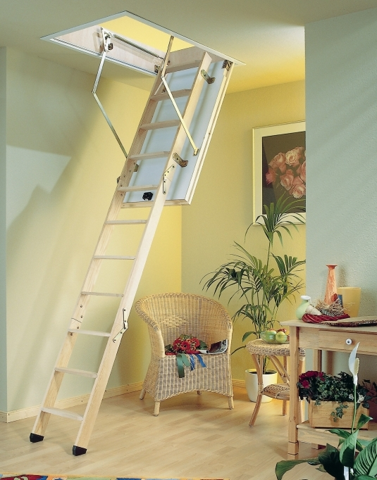 Pull Down Attic Stairs Folding Stair Design Photo