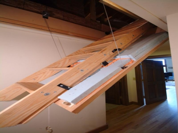 Pull Down Attic Stairs Sliding Loft Ladders Picture