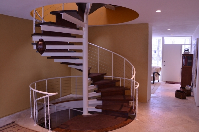 Spiral Staircase Dimensions Building Design Plans Images