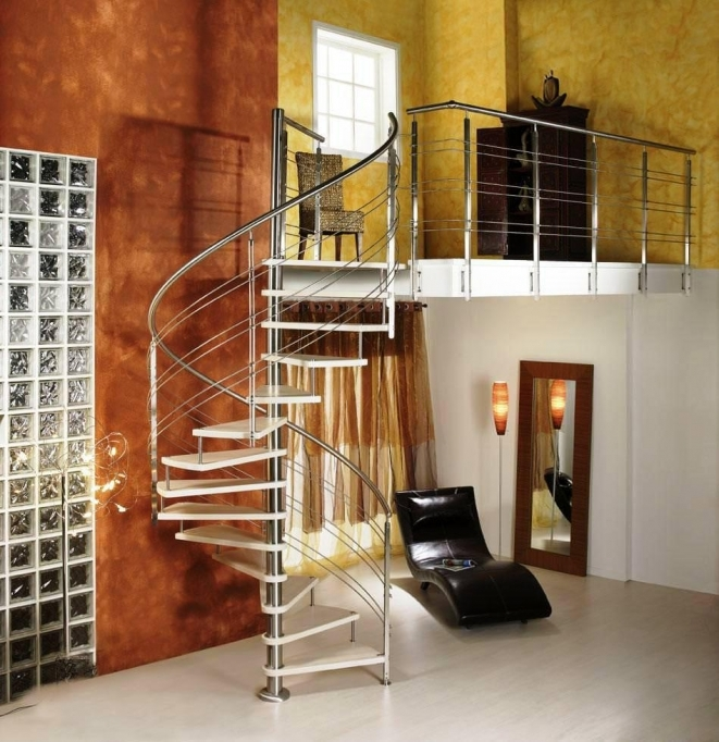 Spiral Staircase Dimensions Steel Design Picture