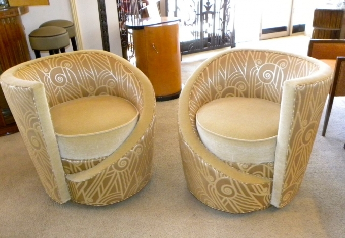 Art Deco Furniture Reproductions Seating Items Collection Photos