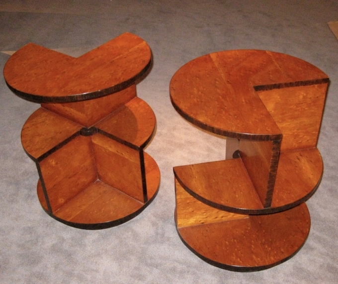 Art Deco Furniture Reproductions Small Tables Picture