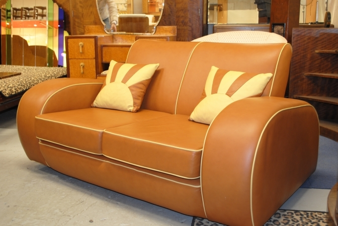 Art Deco Style Furniture Reproductions Sofa Chairs Image