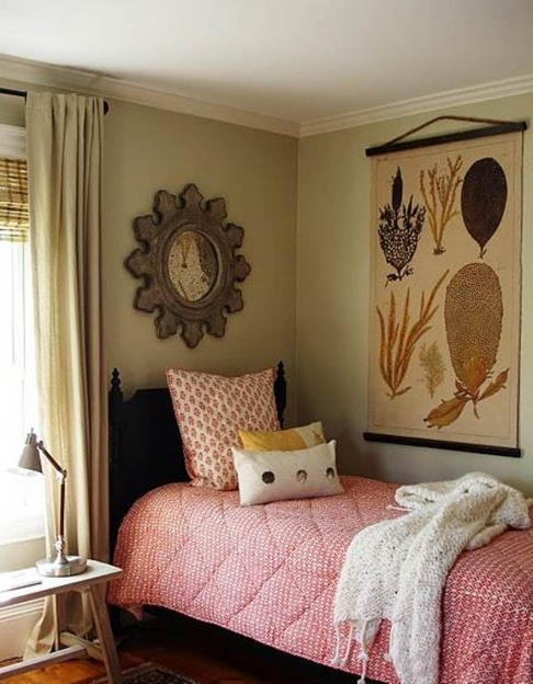How To Decorate Small Bedroom Comfy Design With Single Bed Pics