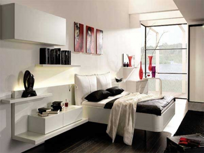 How To Decorate Small Bedroom Cool Contemporary Bedroom Sets Image
