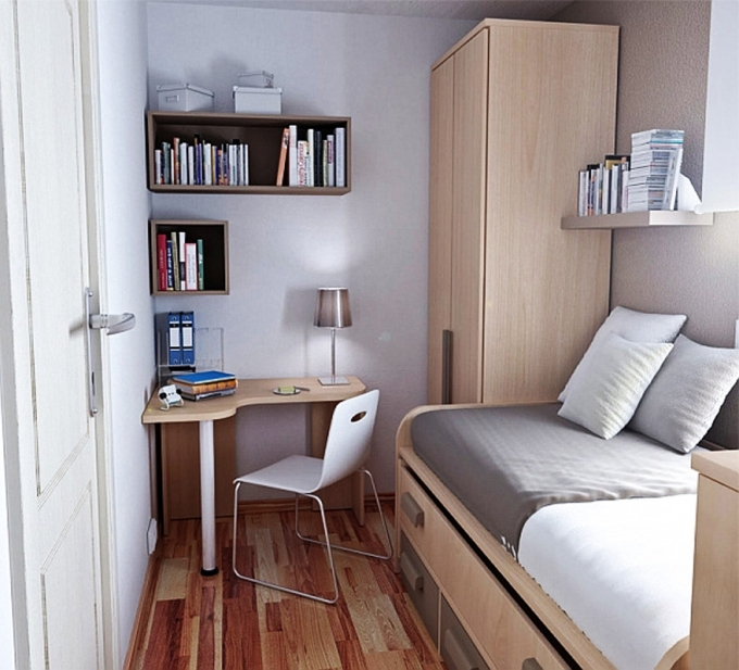 How To Decorate Small Bedroom Home Furniture And Interior Designs Pics