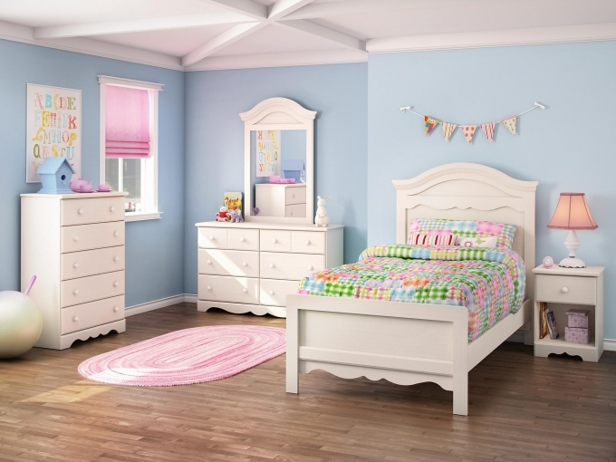 Painted Bedroom Furniture Classy Wood Furniture Sets For Girls Design Picture