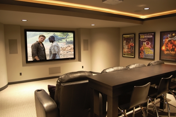 Small Media Room Ideas Home Theater Design 82