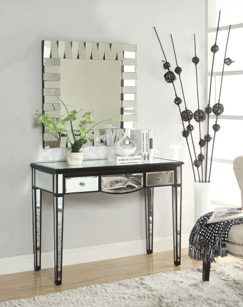 Mirrored Hallway Furniture Saving Small Spaces Modern Minimalist Dressing Room Design Pic